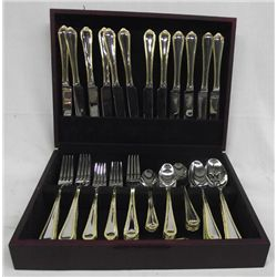 Stainless Steel Flatware Service for 12