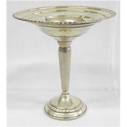 Sterling Silver Tall Compote, Columbia Silver Co.
