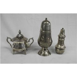 Silverplate Tableware Pieces