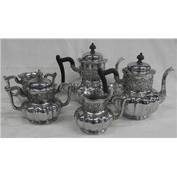 Southington Silverplate 5 Piece Tea & Coffee Set