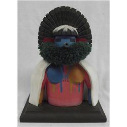 1986 Hopi ''Early Morning Singer'' Kachina - Lasiloo