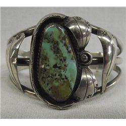 Navajo Sterling Silver Bracelet - Jimmie Delgarito