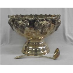 Silverplate Wine Champagne Punch Bowl/Bucket Large
