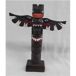 Northwest Coast Totem Pole Statue