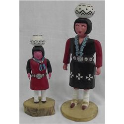 Zuni Maiden Kachinas by Thomas & Marie R. Tsosie