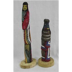 Hopi Long Hair Shalako Kachinas