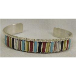 Zuni Multi-Stone Bracelet by Lucy Shekya