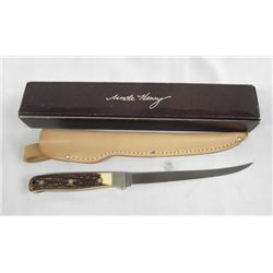 Schrade Cutlery Uncle Henry Knife and Sheath