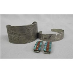 Collection of Mexican and Native American Jewelry