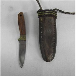 Contemporary Plains Indian Neck Knife