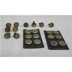 Button Covers & Indian Head Penny Cufflinks