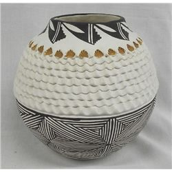 Traditional Acoma Jar by Norma Jean Ortiz