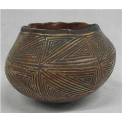 Vintage Native American Acoma Pot