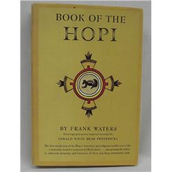 Book, ''Book of the Hopi'' by Frank Waters