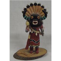 1982 Hopi Snake Dancer Kachina by N. Muth
