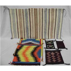 Collection of Navajo Weavings & Samplers