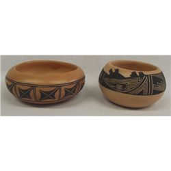 Hopi Pottery Bowls