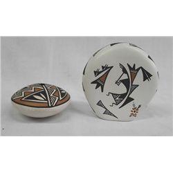 Acoma Pottery Jars
