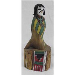Hopi Hand Carved Kachina by A. Fritz