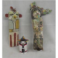 Collection of Vintage Hopi Kachinas