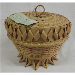 MicMac Tricolor Native American Basket