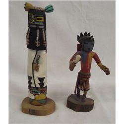 Hopi Hand Carved Kachinas Sakiestewa & Wilson