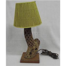 Western Cholla Cactus Lamp