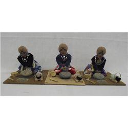 Pueblo Corn Grinding Dolls