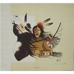 Comanche Rance Hood Signed & Numbered Print
