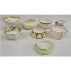 Collection of Salt Cellars