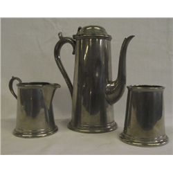 Vintage Worcester English Pewter Tea Set #742