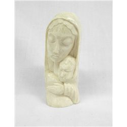 Ivory Mother and Child Carving