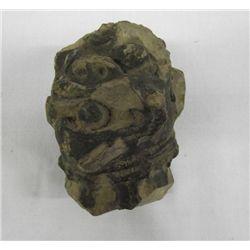 Black Americana Stone Head