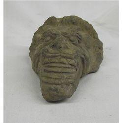 Dragon Head Carving Stone Artifact