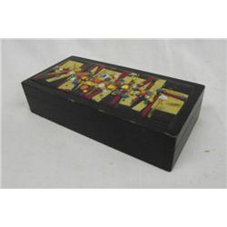 Artist Copper Enamel Box