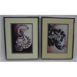 Jack Bazel Framed and Matted Prints