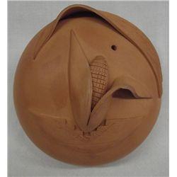 Acoma Pottery Seed Jar by Sandra Shutiva Garcia