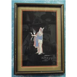 Comanche Signed Numbered DocTate Neyaquaya Print
