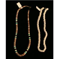 2 Heishi Necklaces,