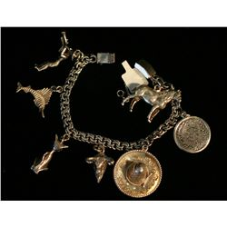 Sterling Charm Bracelet,