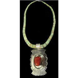 Navajo Necklace - Leonard & Marion Nez