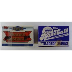 1985 1992 Topps Traded Baseball Sealed Factory Sets
