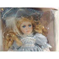 COLLECTIBLE MEMORIES PORCELAIN DOLL - TERESA