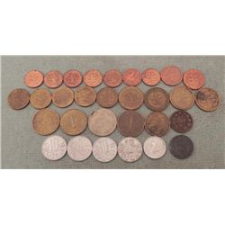 30 Old Coins from Austria & Germany