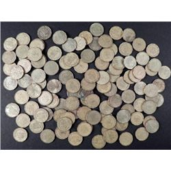 112 Mexico 50 Cents Coins 1992-2005
