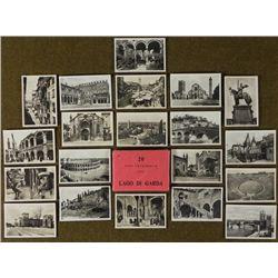 SET OF WWII ITALY BRINGBACK PHOTOS OF LAGO DI GARDA