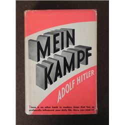 """""""MEIN KAMPF"""" BY ADOLF HITLER-1939 EDITION IN ENGLISH"""