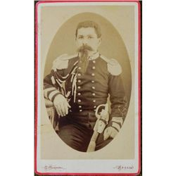 Antique CDV Photograph WWI Italian Naval Officer