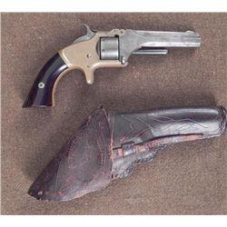 Smith & Wesson Revolver Gun w/ C. Rohr Holster