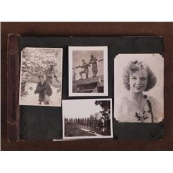 WWII MILITARY PHOTO ALBUM-100+ PHOTOS-US-JAPANESE-BRIT